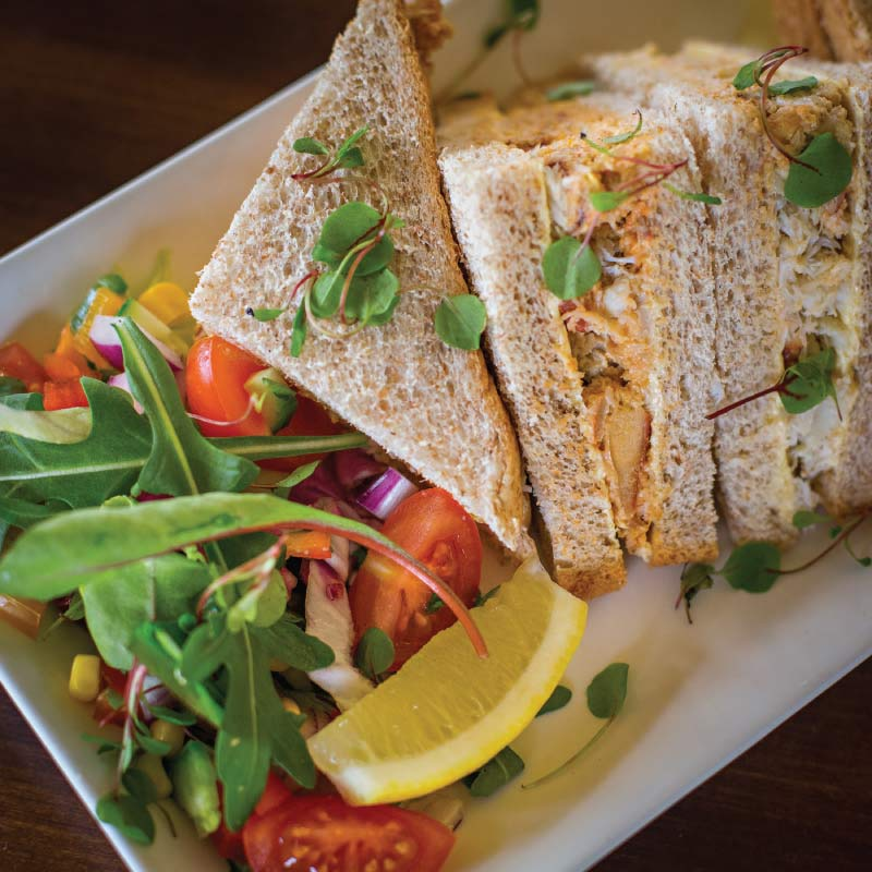 Sandwiches at the Buttery Cafe, Cromer, Norfolk
