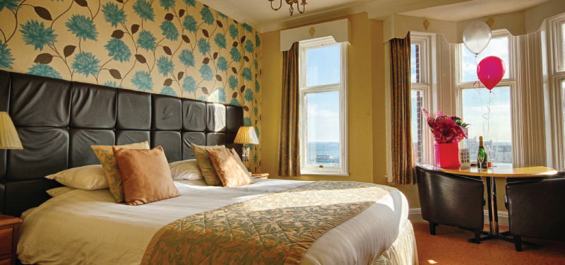 Twin/ Double room at the Cliftonville Hotel, Cromer, Norfolk
