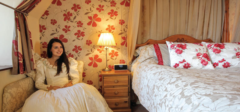 Honeymoon Suite at the Cliftonville Hotel, Cromer, Norfolk