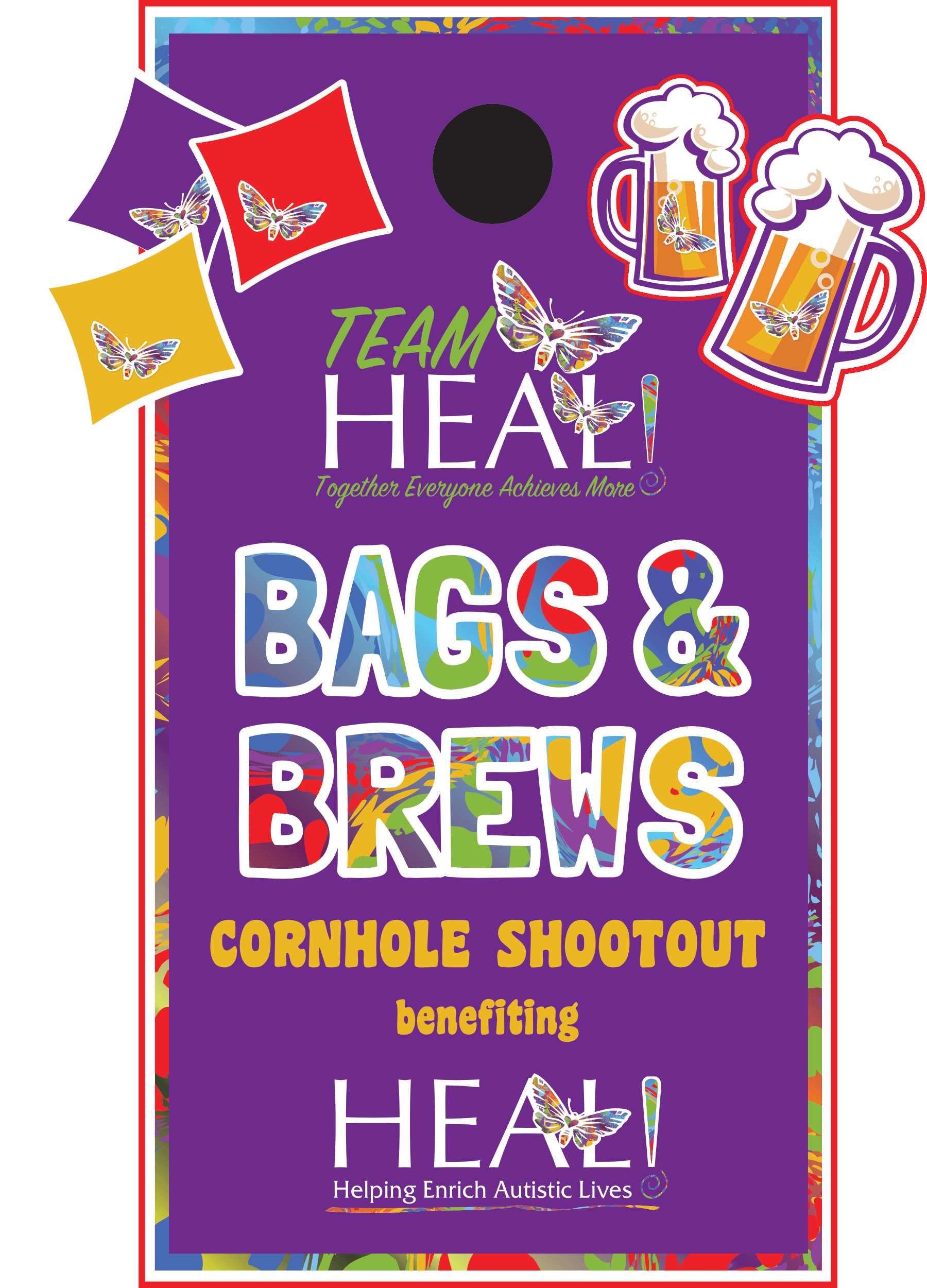 HEAL Bags and Brews