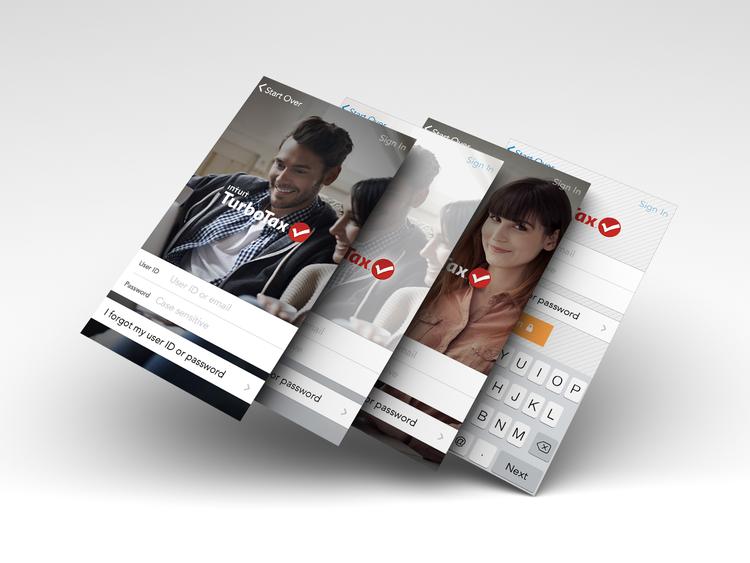 2014 TurboTax iOS  Auth. Experiences