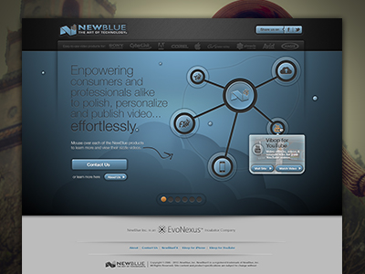 2012 NBI Interactive Home Page Concept