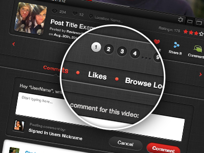 2012 Video Sharing Site Design