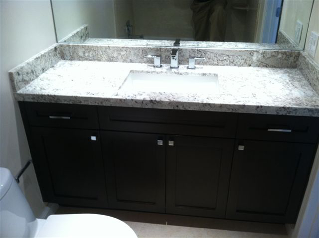 Espresso Shaker Bathroom Vanity