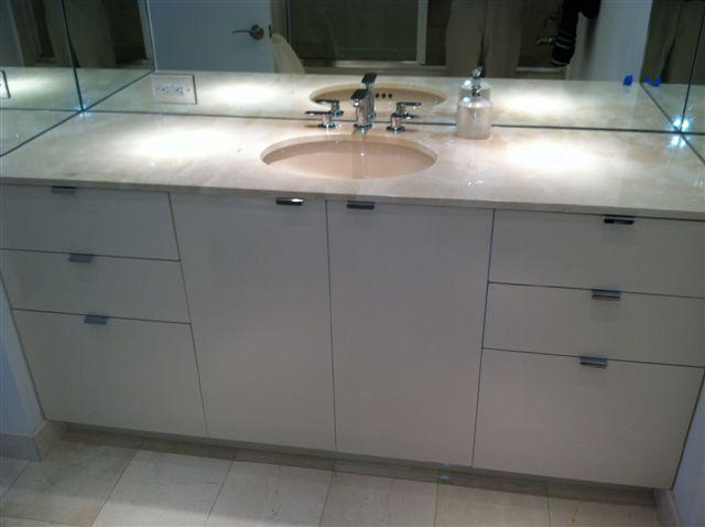 Small Spaces Bathroom Vanity