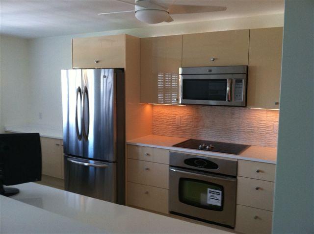 Glossy Acrylic Kitchen