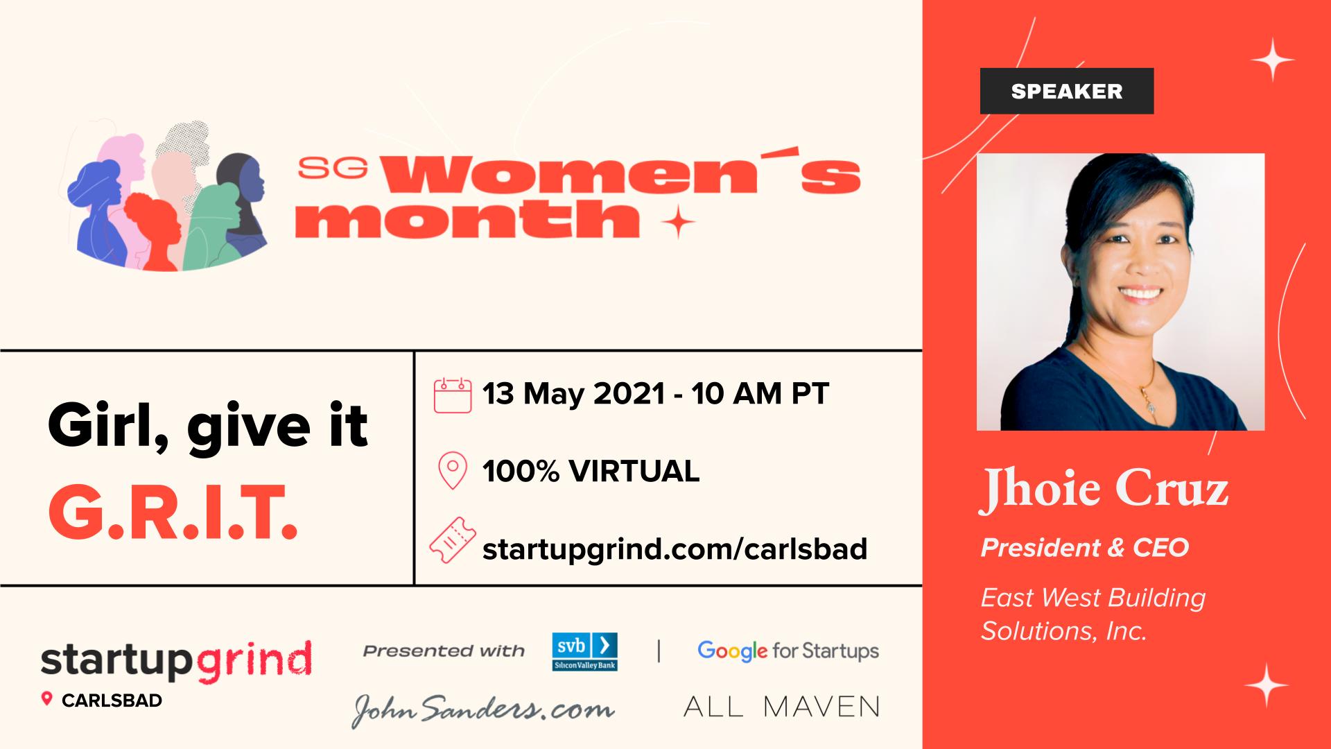 Startup Grind - Jhoie Cruz