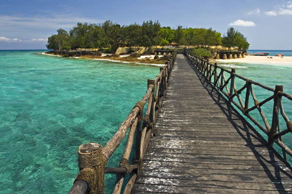 Prison island jetty
