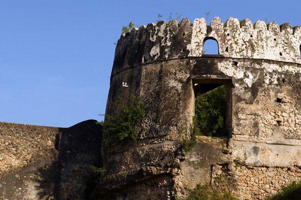 zanzibar ruins
