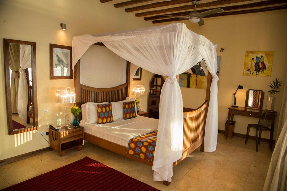 the Z suite at the Z hotel zanzibar