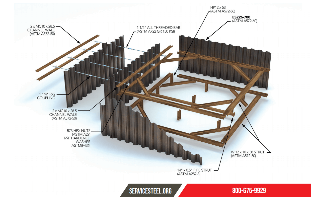 Service Steel Warehouse™ | Specialty/Piling