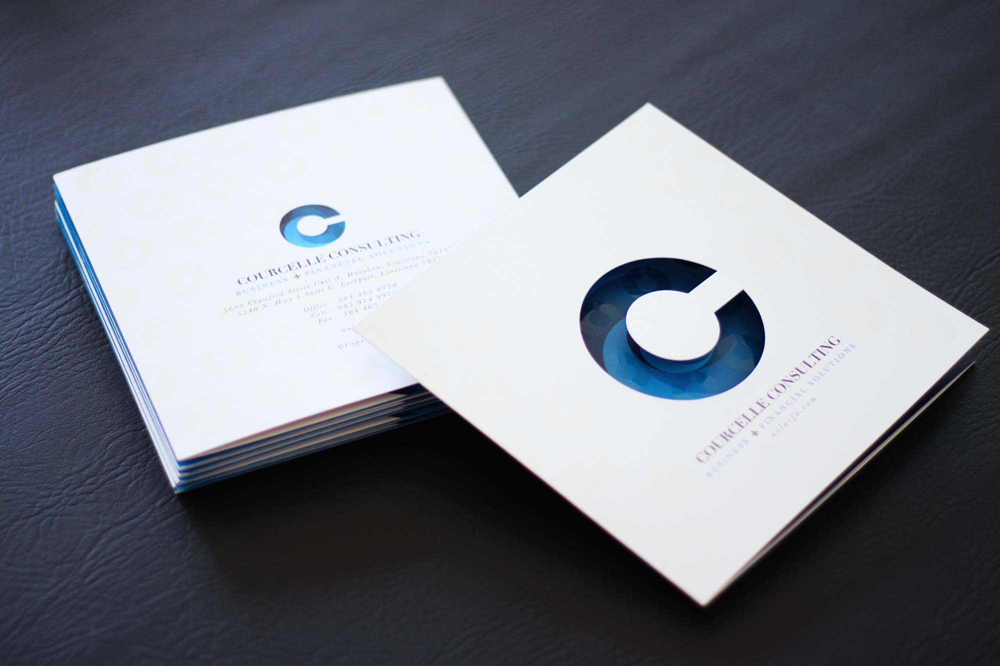 Brochure Design for Courcelle Consulting