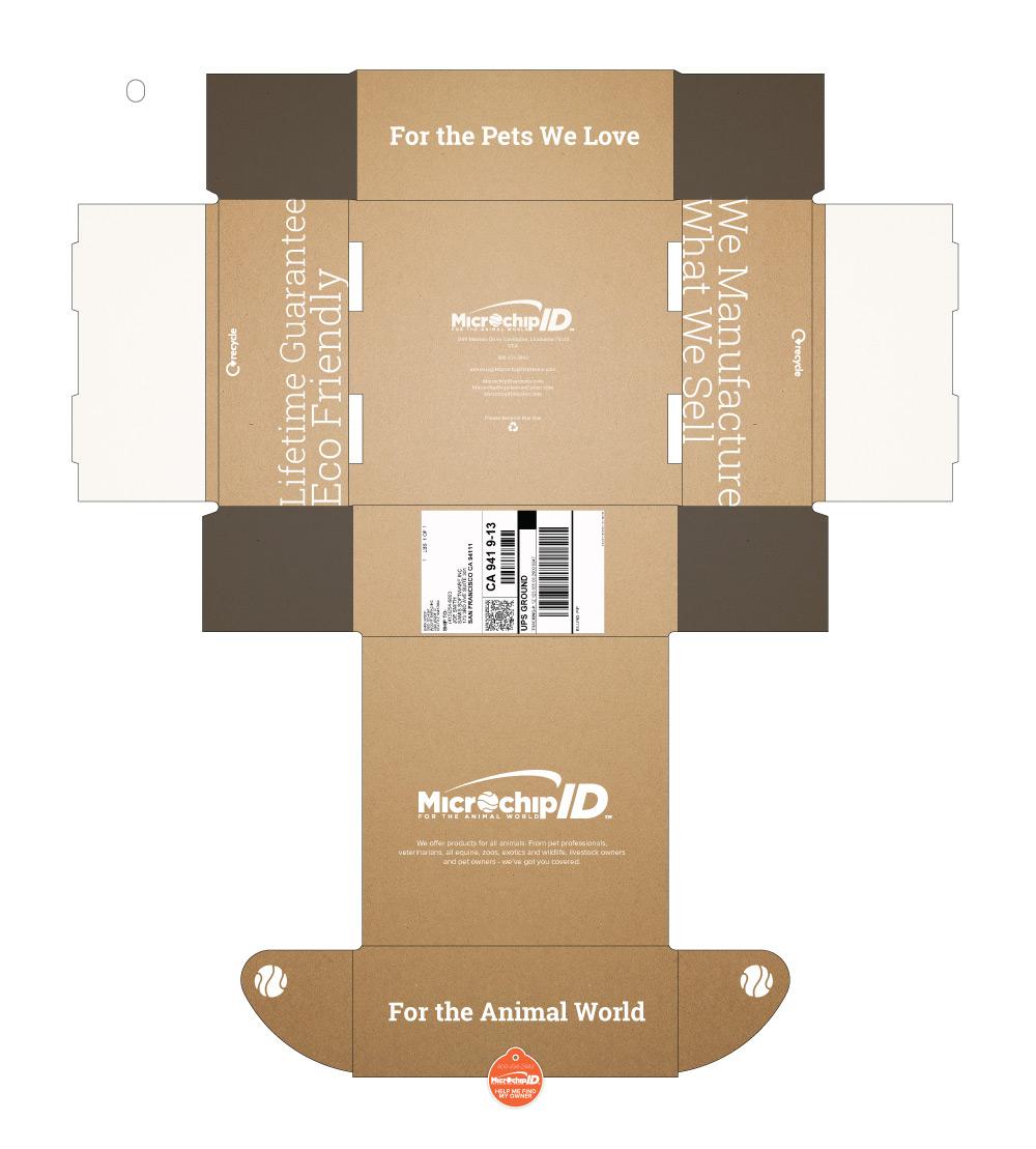 Mailer Box Design Mockup 1