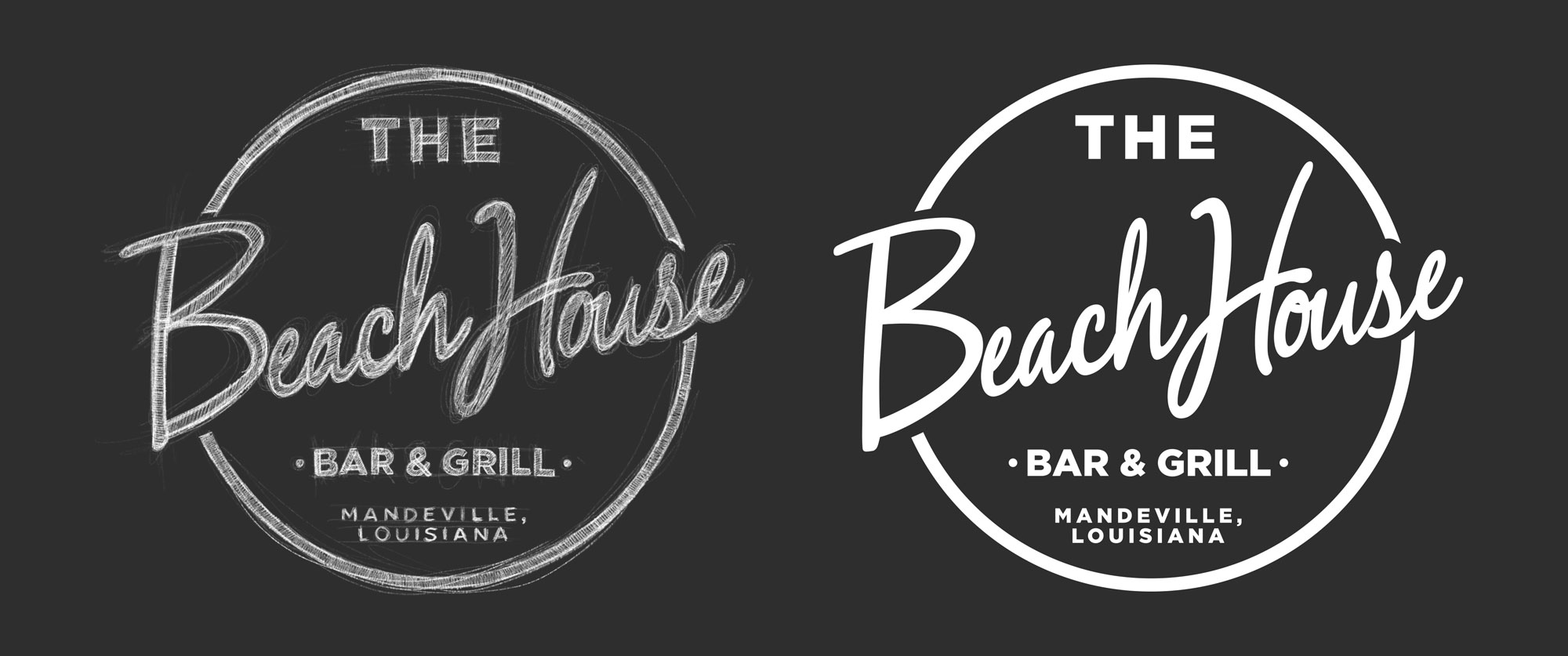Logo Design Mockups for the Beach House