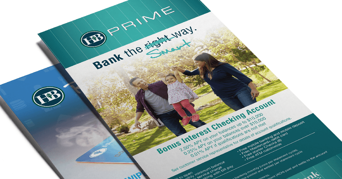 Heritage Bank Prime Print Collateral