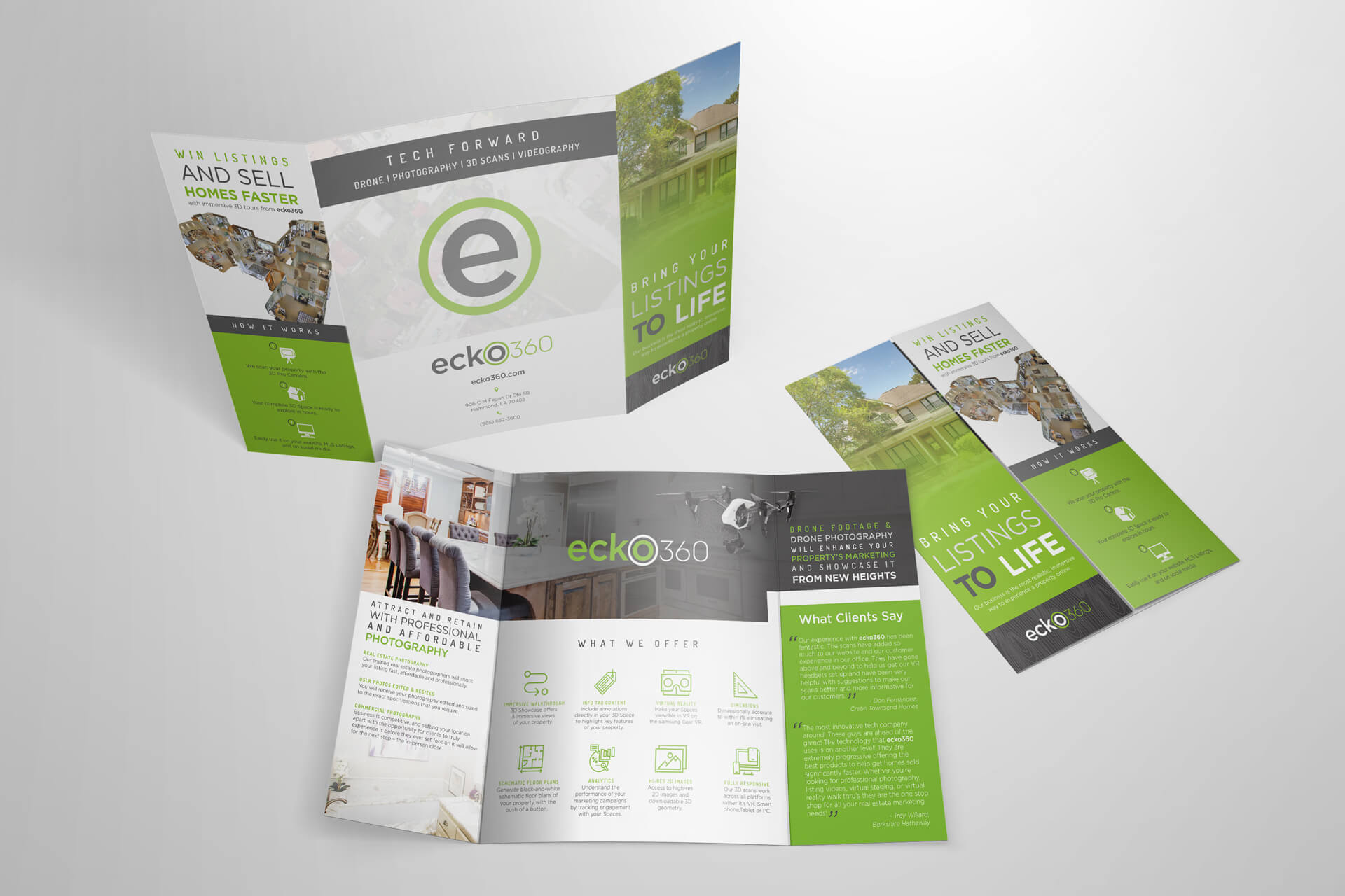 ecko360 Print Brochure
