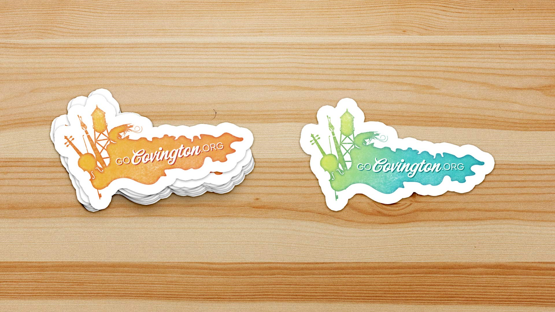 GoCovington Stickers