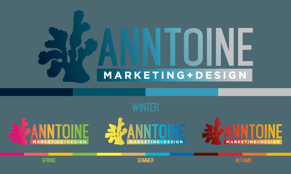 Anntoine Marketing + Design Seasonal Colors