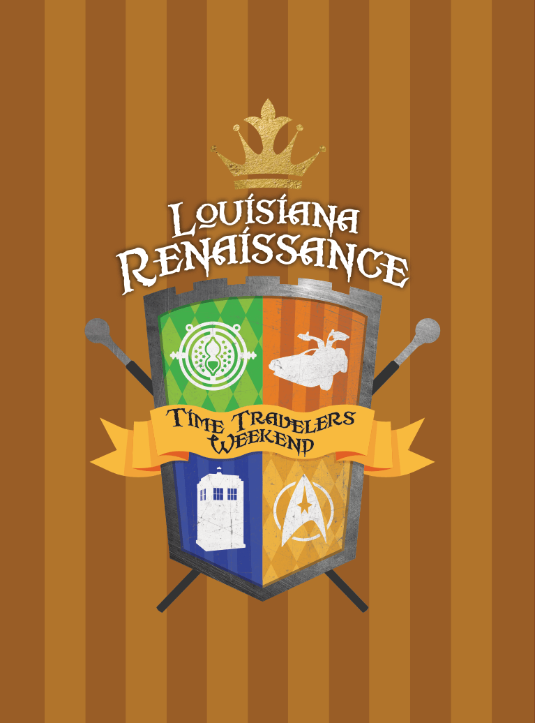 Louisiana Renaissance Festival Travelers Weekend Logo
