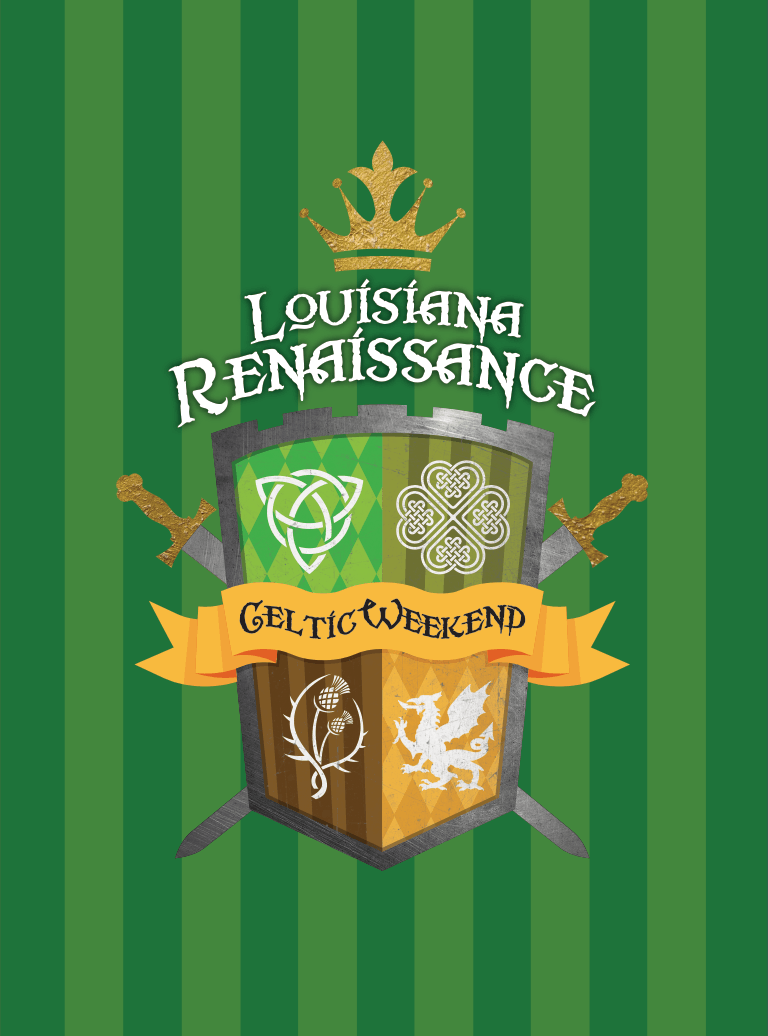 Louisiana Renaissance Festival Celtic Weekend Logo