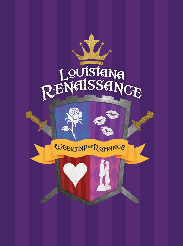 Louisiana Renaissance Festival Weekend of Romance Logo