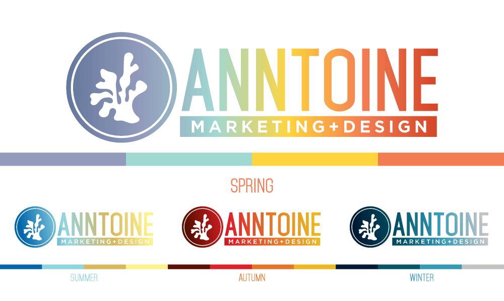 Anntoine Marketing + Design Seasonal Colors