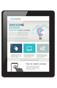 responsive web tablet