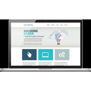 responsive web laptop
