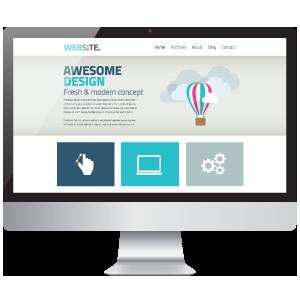 responsive web desktop