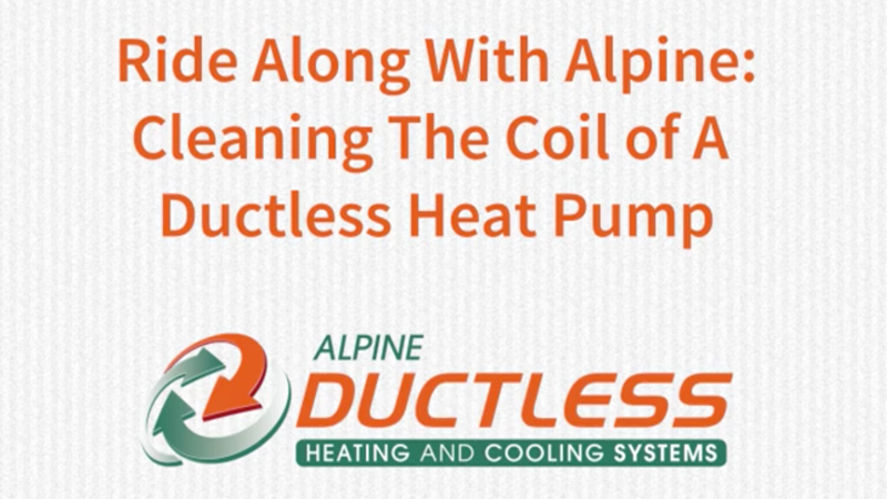 Ductless Cleaning Demo