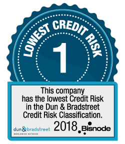 Bisnode – Lowest Credit Risk 2018