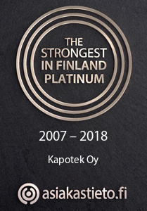 Strongest in Finland