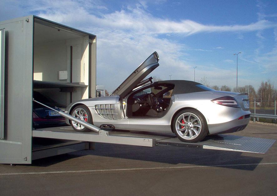 Promotion-Auflieger und Roadshows durch Ligthart Mobile - Ligthart autotransporters