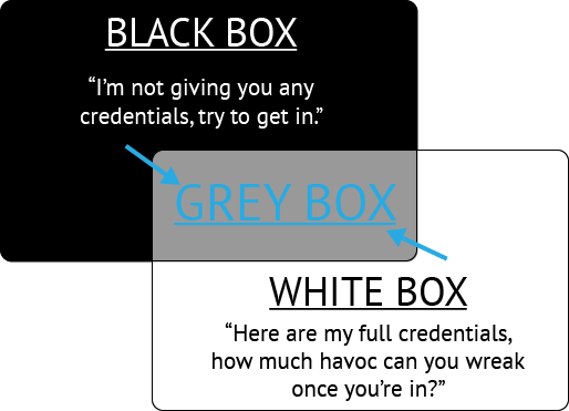 Black Box + White Box = Grey Box