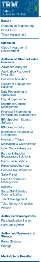 IBM Platinum Business Partner Achievements