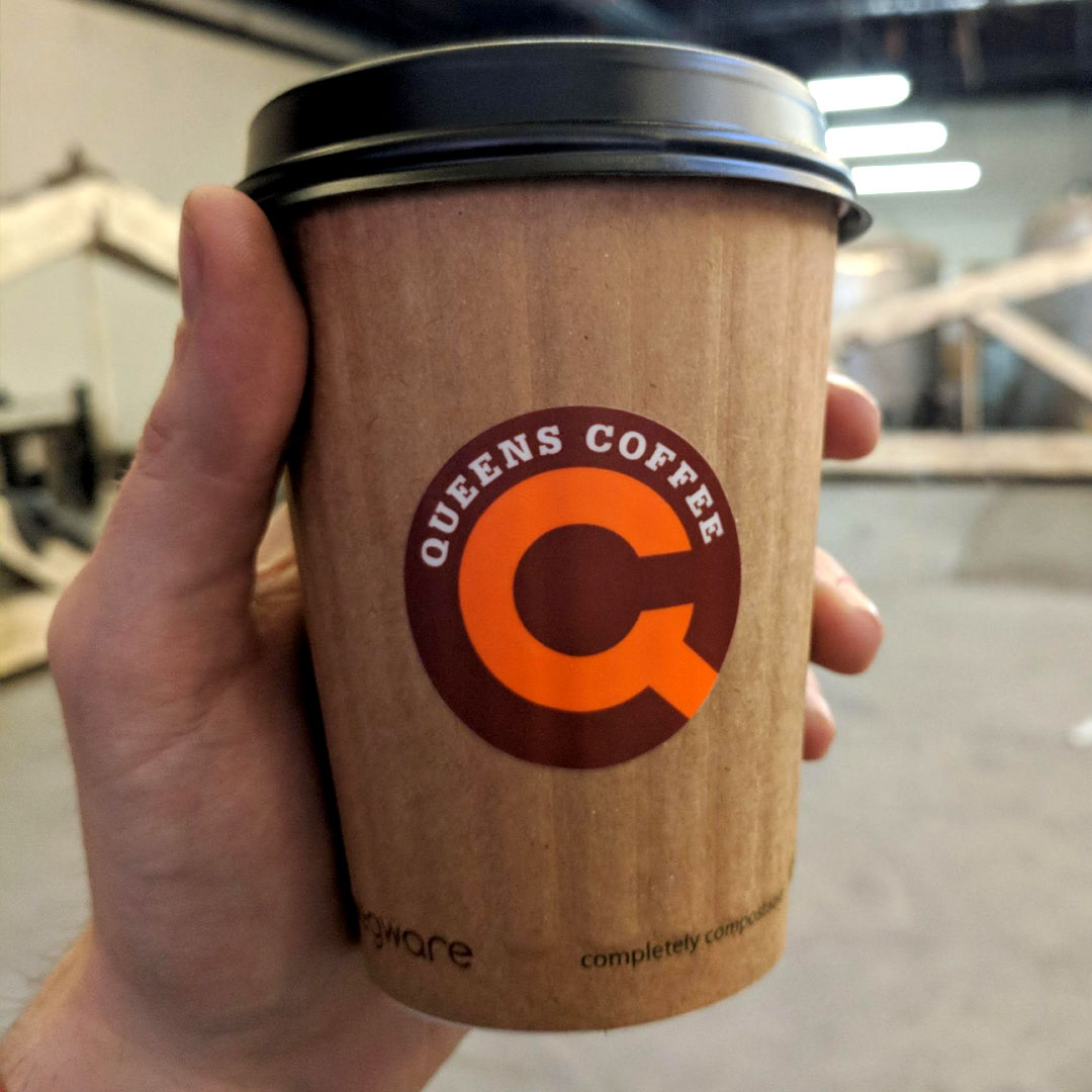Queens Coffee cup