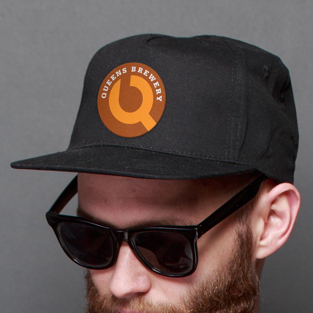 Queens Brewery logo baseball cap