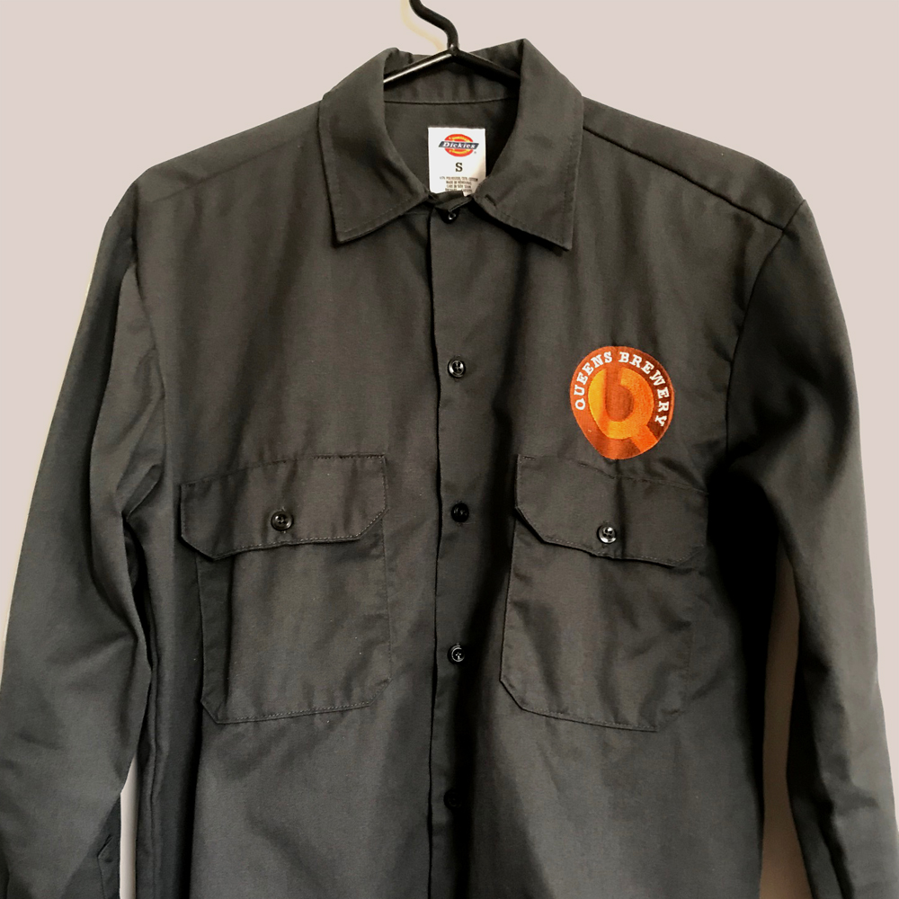 Queens Brewery Dickies work shirt