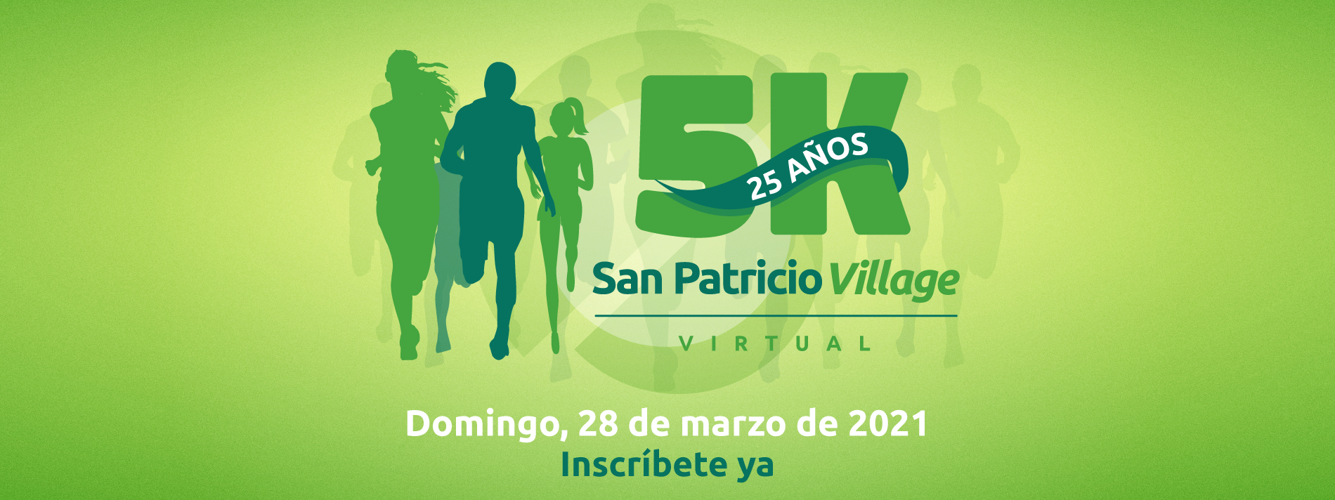 Banner for San Patricio Village Virtual 5K