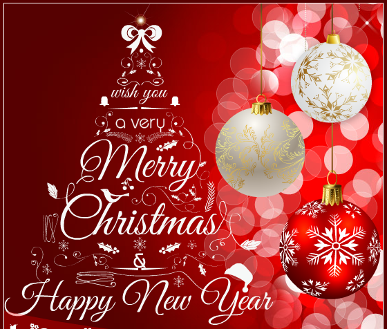 30 Merry Christmas and Happy New Year 2016 Greeting Card Images | Merry  christmas message, Merry christmas card greetings, Merry christmas wishes