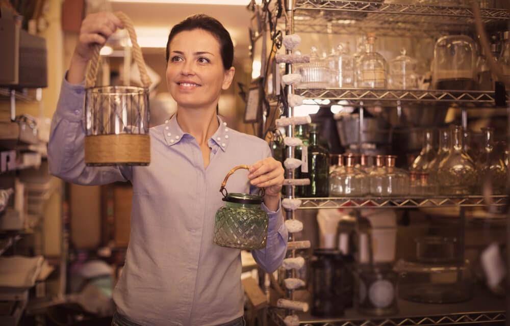 Decoração de lojas pequenas de variedades
