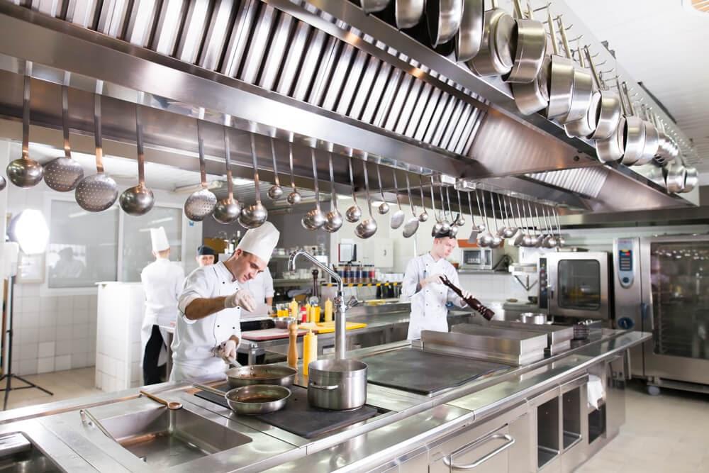 Lista de equipamentos para abrir um restaurante
