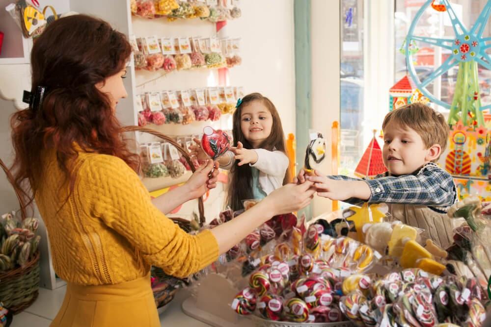 venda de doces