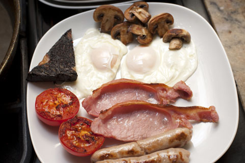 Photoshop and the full english breakfast!