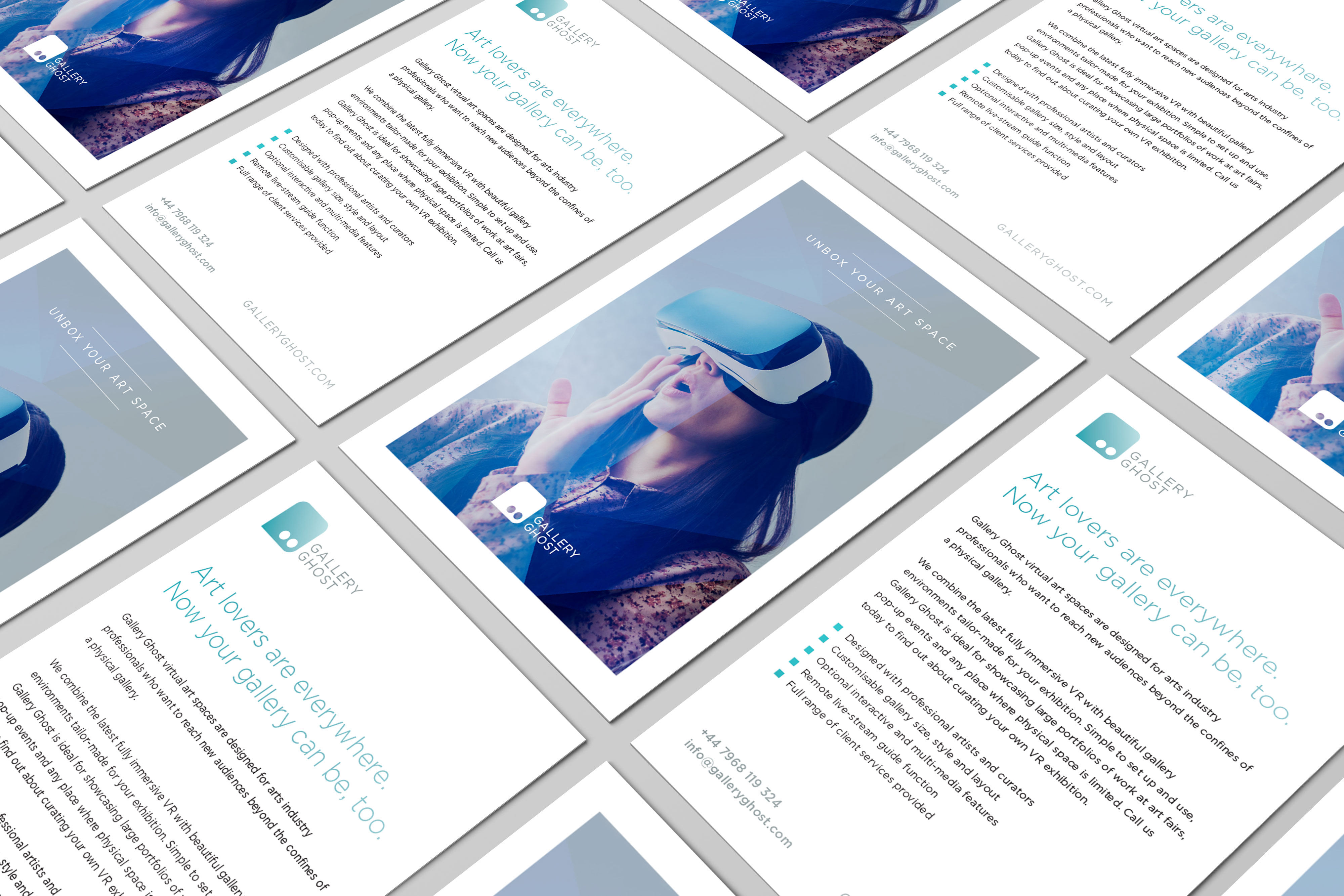 Rapid identity and collateral for VR startup