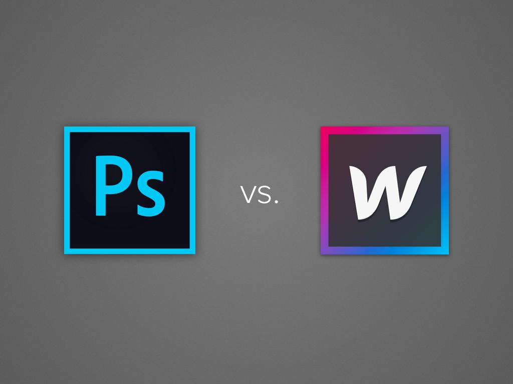 Webflow: sayonara to Photoshop mockups?