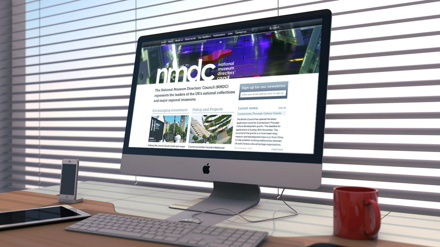 Website redesign for museum directors website