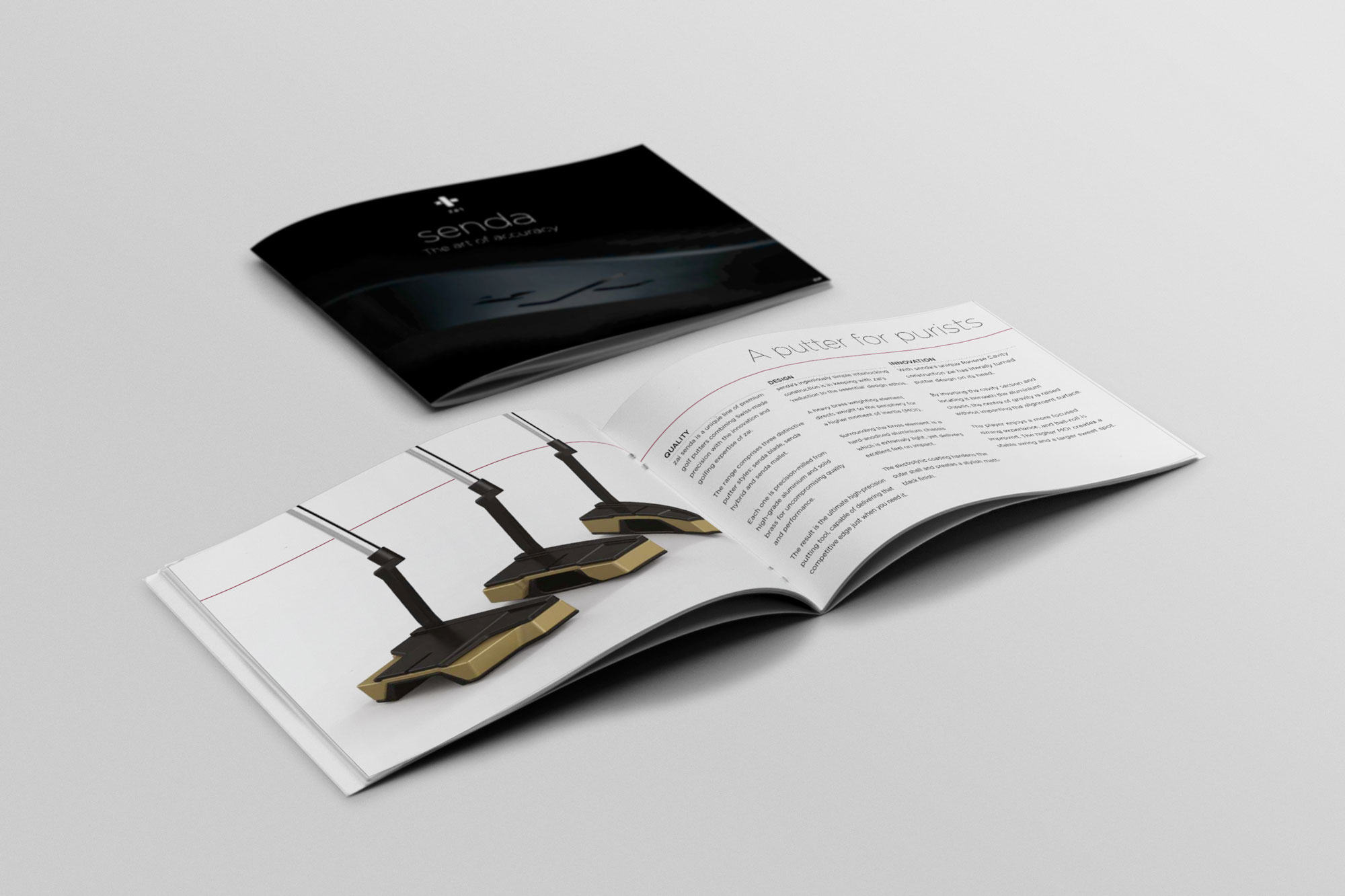 Launch of a new range of luxury putters