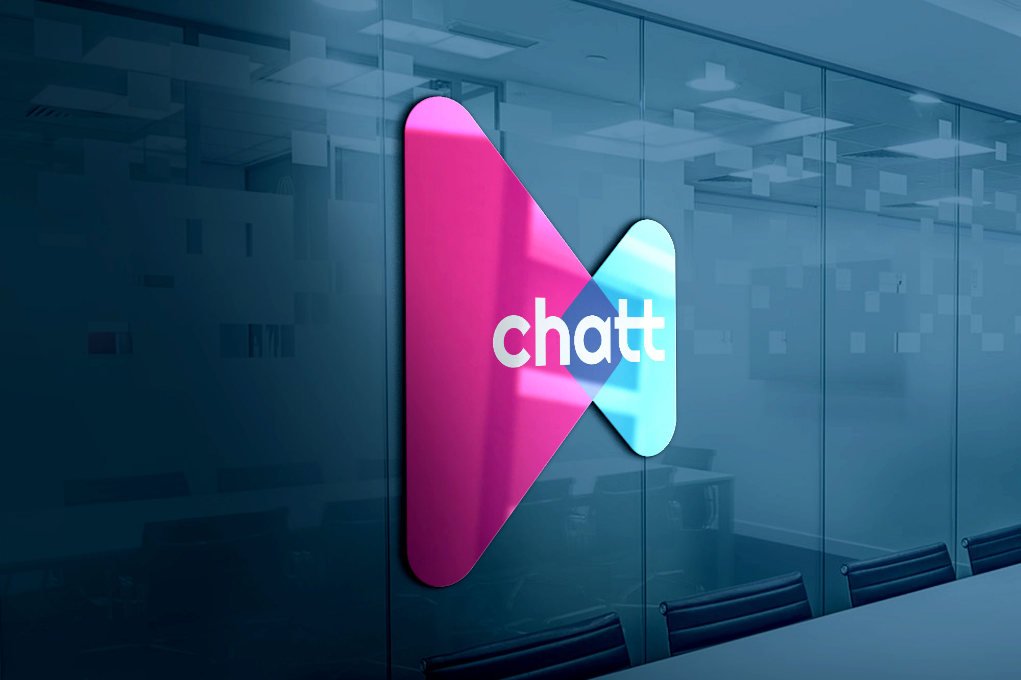 New logo and identity for an automated online chat service for SMEs