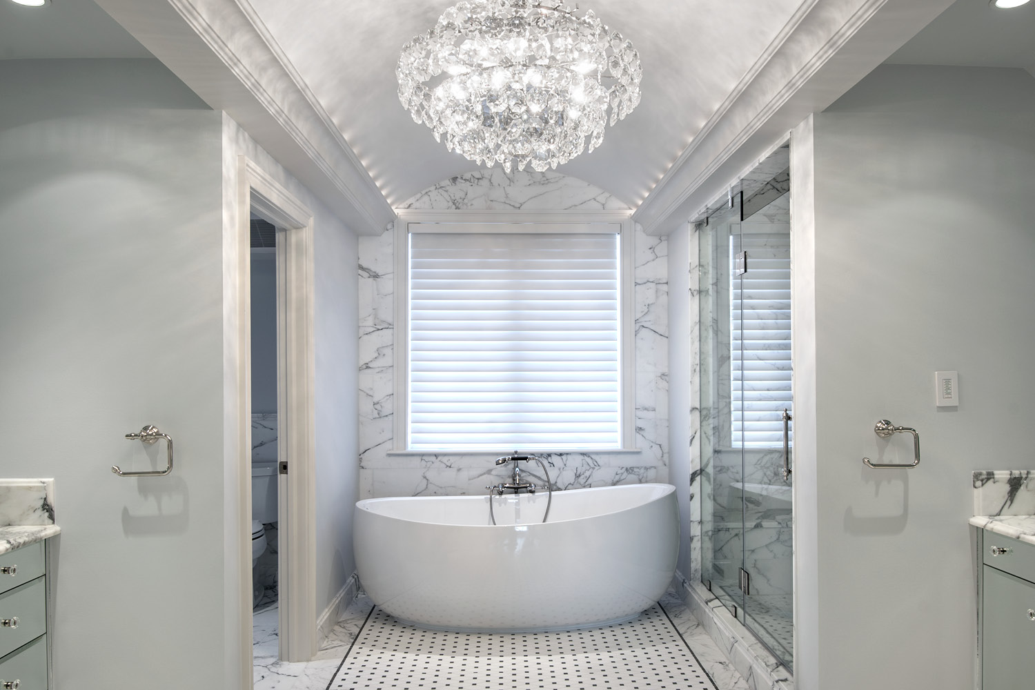 Photo of Haverford Reserve custom bathroom design
